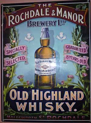 Rochdale and Manor Whisky