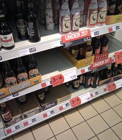 Aylesbury Sainsbury's Christmas Ale Range